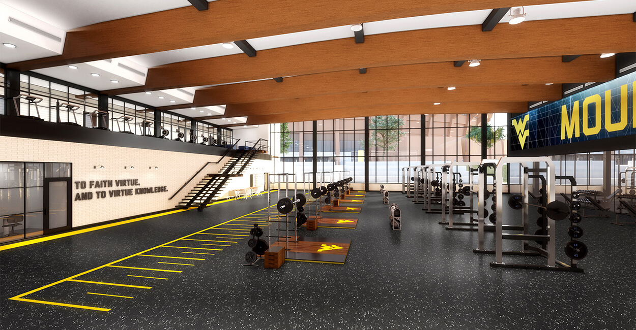 Olympic Sports Weight Room