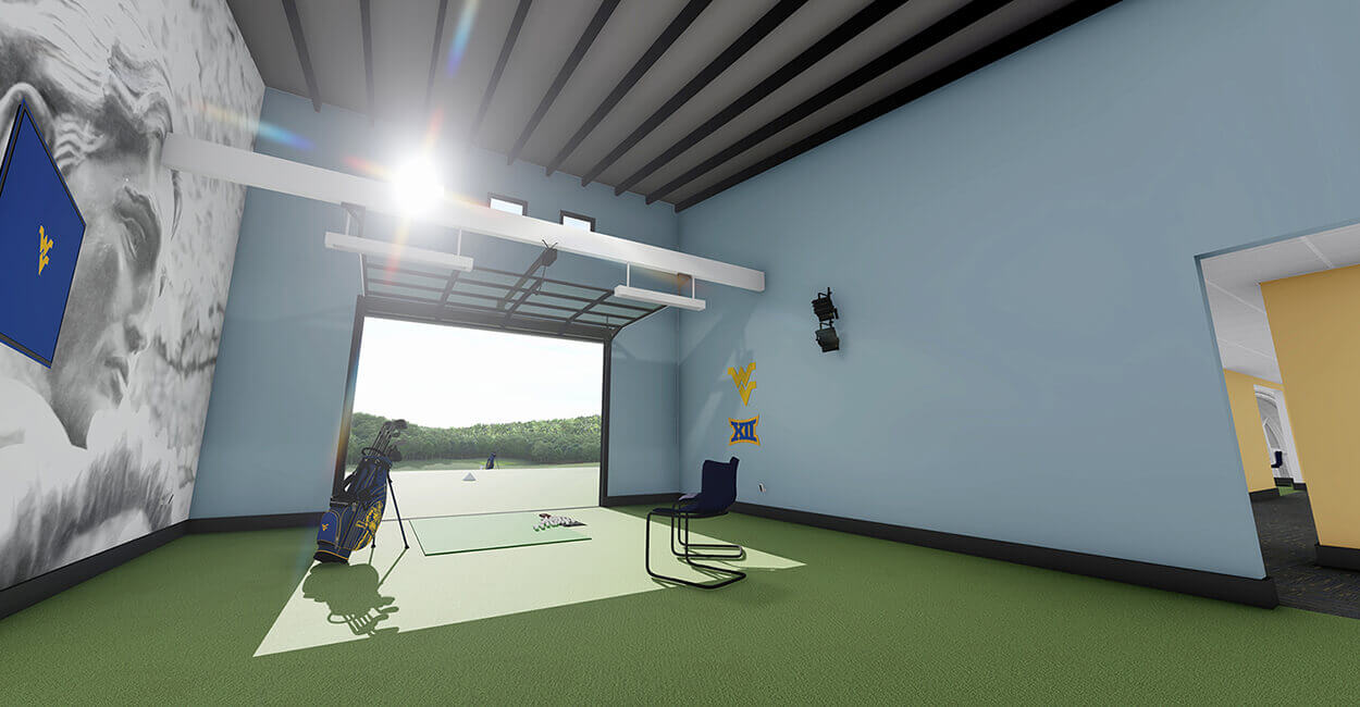 Indoor Hitting Bay